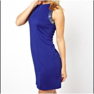 ASOS embellished hardwear shift dress